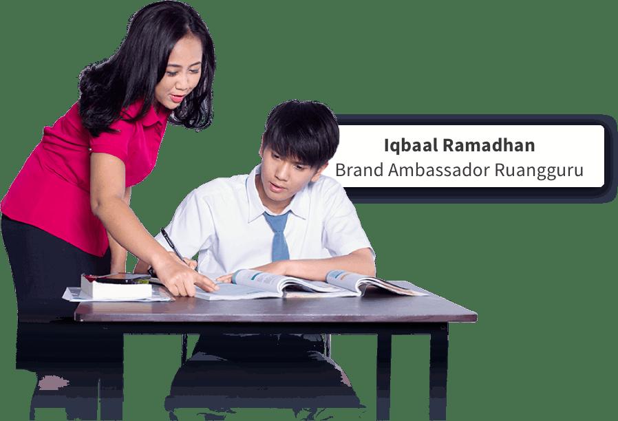 Iqbaal Ramadhan - Brand Ambassador Ruangguru